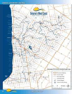 Huron County Ski Map