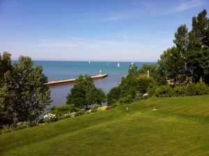 Bayfield Marina and Lake Huron