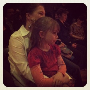Brenda and Isabella Nurse of Rostock enjoy the show.