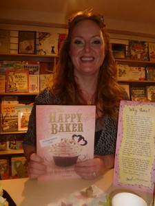"Erin Bolger, the Happy Baker Chick ... watch for the grand opening of her new Bayfield Baker ""Pink Flamingo"""
