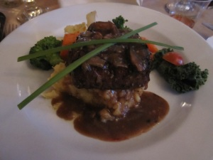 whisky marinated local fillet mignon