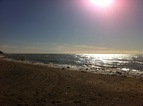 Port Albert Beach in March