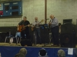 Live music with old-time fiddle tunes was popular with the crowd.