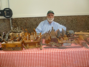James Axtmann of Walton shares his personal collection of antique carpenter tools.