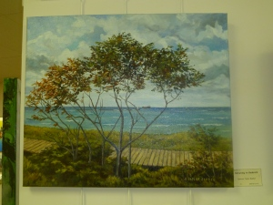 Returning to Goderich, oil by Barbara Taylor-Bakker
