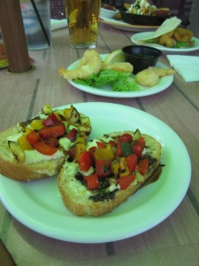 Oakwood's bruschetta