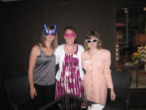 Diva Nicole, Trista and Cassandra in funky eyewear