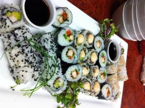 Sushi at Samuels
