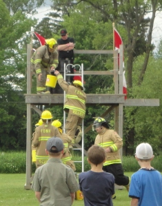 Firemen's Races at the Musical Muskrat Festival