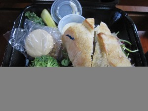 Tasty take-out lunches from Eddington's of Exeter
