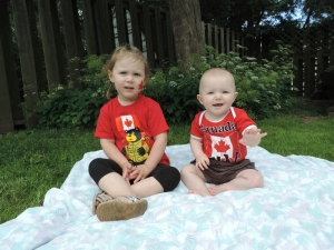 Canada Day cuties