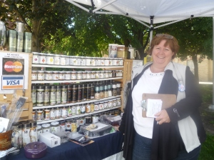 Pauleen Kerkhof, a local Epicure consultant is a regular vendor at the Market.