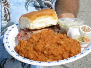 all you can eat pork & beans!
