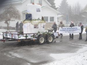 South Huron Hospital float