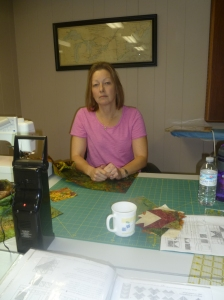 Wendy Chandler has been enjoying quilting retreats at Brentwood for six years