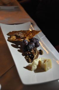 Winterlicious - Cheese Plate