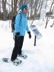 Heidi Martin from Outside Projects leads us on a snowshoeing adventure!