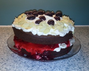 Homemade Black Forest cake (photo courtesy of Anthony Sitko)