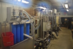 Saps contains 2% sugar,  After processing through this Reverse Osmosis System it's at 16%.