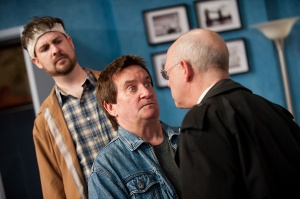 David Leyshon, Michael Lamport and David Talbot Run For Your Wife, 2014 SeasonPhotographer, Scott Williams  Photo taken from the website - http://goo.gl/6KUiIl