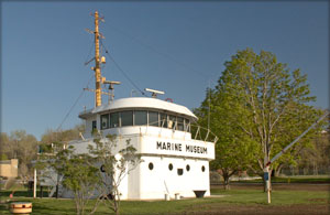 This small museum located at the main beach and harbour area, in Goderich is dedicated to the men and women who made their living on Lake Huron.