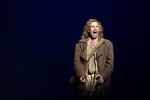 David Rogers in Drayton Entertainment's Les Miserable, playing at Huron Country Playhouse until Aug.30/14