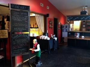 The Fireside Cafe offers a warm and comfortable dining experience