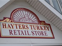 Hayters Store Sign