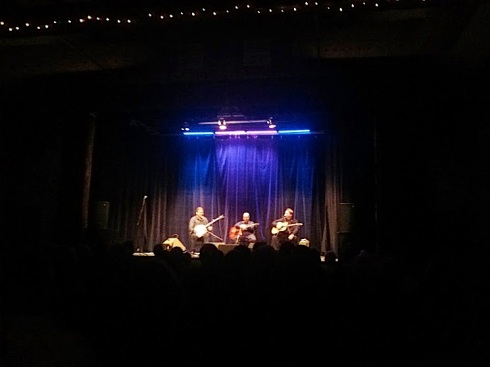 The Kruger Brothers concert at The Livery in Goderich was presented by the Celtic Roots Festival.