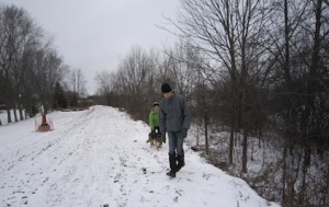 Wingham Community Trail extension.