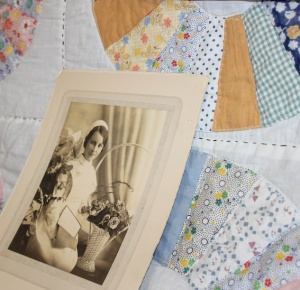 Grace Manson died of tuberculosis before she finished this quilt.
