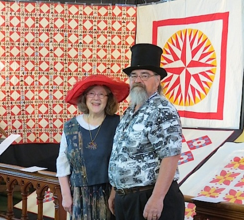 The quilt collection of Susan & Laurie Kraftcheck is featured in the 2015 Quilt Exhibit. Photo courtesy of Bonnie Sitter.