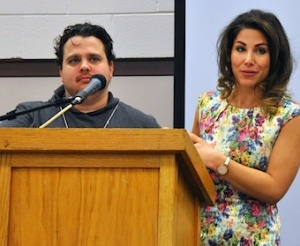 Keynote speakers Rebecca Wise and Victor Barry of Cottage Life's INNvasion's reality TV show, talked about the growing trend for nostalgia and urged participants to think of all the senses - smell, sounds, touch, and tastes.