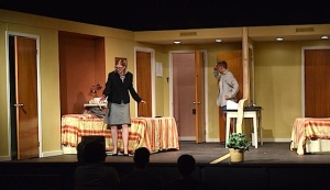 Confusion leads to hilarity in Unnecessary Farce, which opens tonight, April 9.