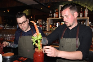 The Ultimate Ashwood Caesar, with King crab leg, is a favourite.
