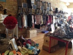 Consignment product is artfully displayed at Luv Scarlett.