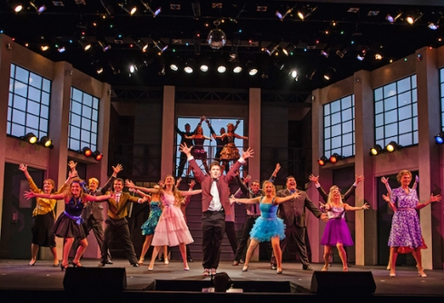 Colin Sheen and Company in Footloose, 2015 Season. Photographer: Darlene O'Rourke.