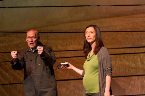 David Fox and Severn Thompson in Seeds at the Blyth Festival. Photo by Terry Manzo for the Blyth Festival