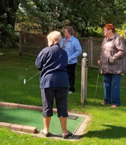 Sometimes fun comes in the simple things - like mini-golf.