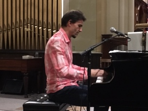 Mike Janzen on piano.