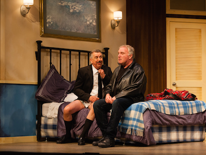 Keith Savage and Ralph Small in Unnecessary Farce, 2016 Season