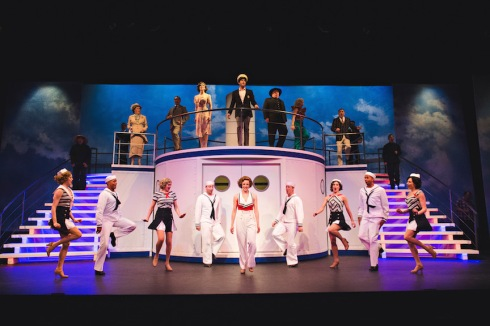 Jayme Armstrong and Company in Anything Goes, Drayton Entertainment, 2016 Season
