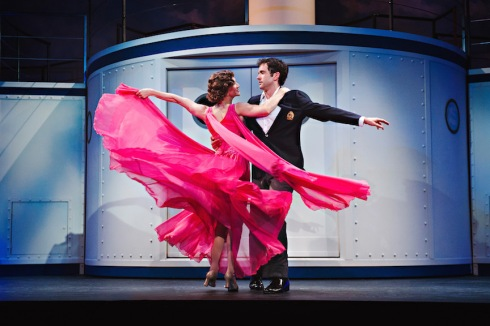 Keely Hutton and Patrick Cook in Anything Goes, Drayton Entertainment, 2016 Season