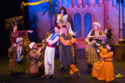 Jamie McKnight, Tim Porter and Company in Aladdin The Panto, 2016 Season