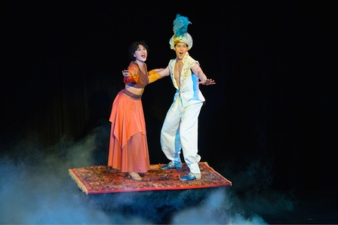 Michelle Bouey and Jamie McKnight in Aladdin The Panto, 2016 Season